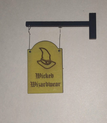 Traditional Wizard Sign