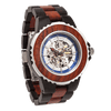 Men's Genuine Automatic Rose Ebony Wooden Watches No Battery Needed - Vanessa Stylez Boutique