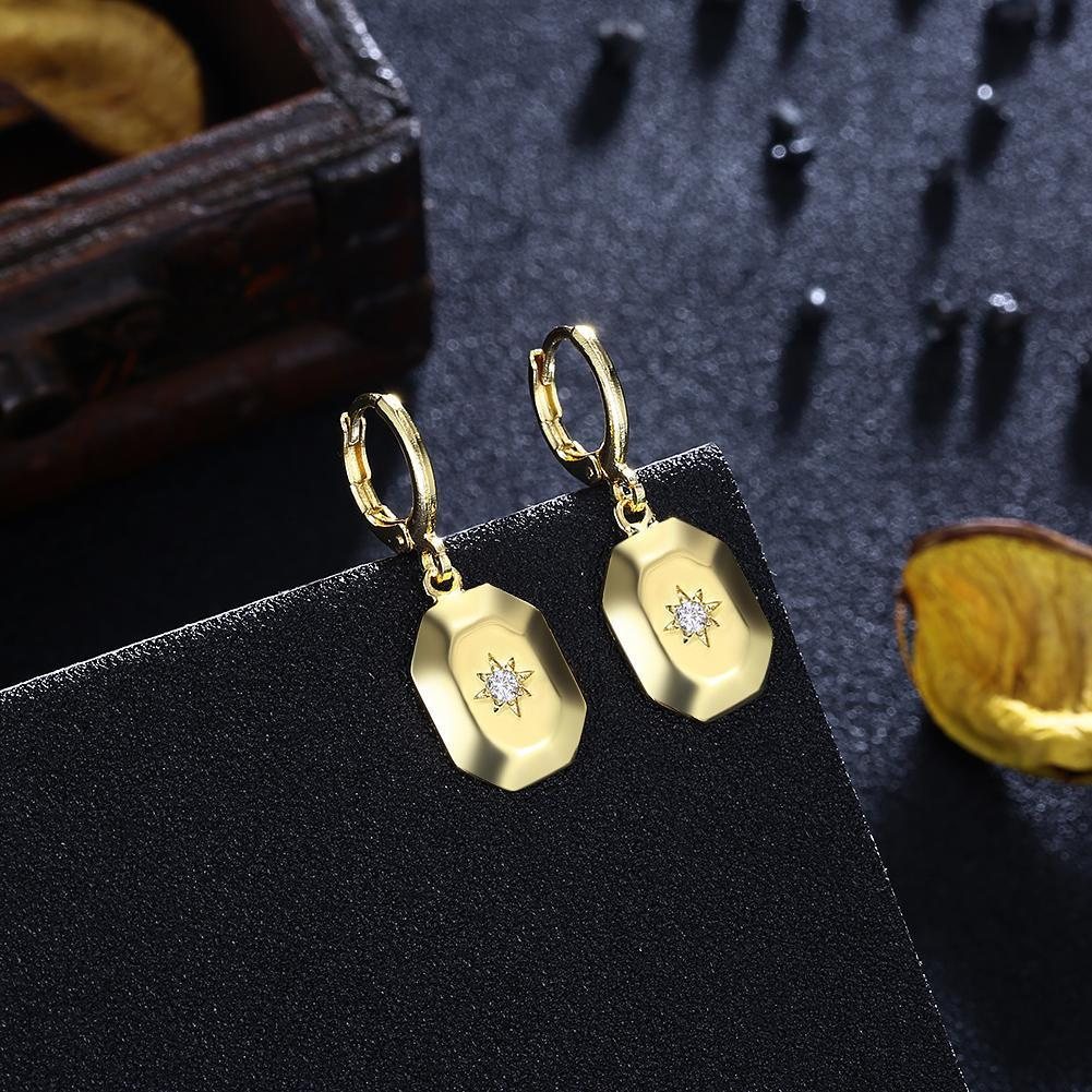 Sunshine Drop Earring in 18K Gold Plated - Vanessa Stylez Boutique