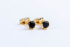 Onyx Bloom Cufflink - Vanessa Stylez Boutique