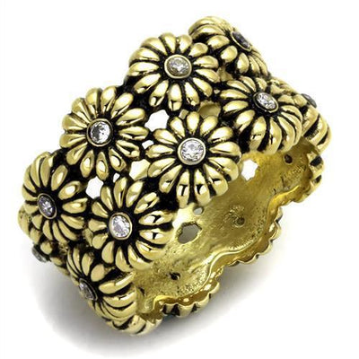 IP Gold Stainless Steel Ring - Vanessa Stylez Boutique