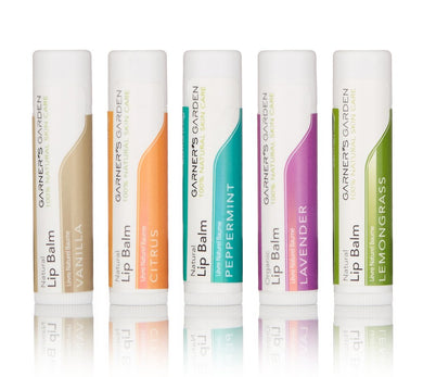 Garners Garden Natural Lip Balm