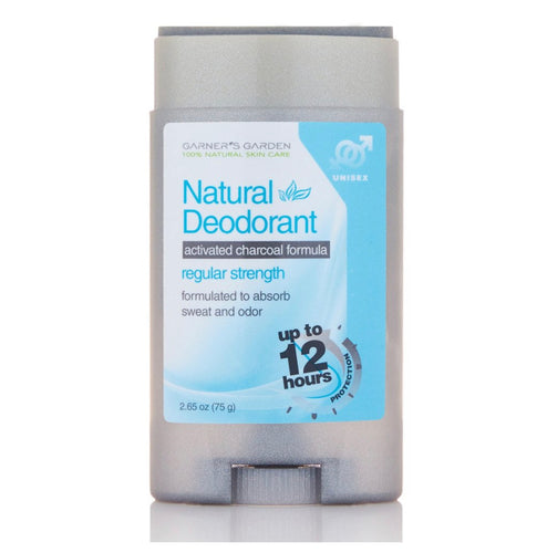 Garners Garden Activated Charcoal Natural Deodorant - Regular Strength