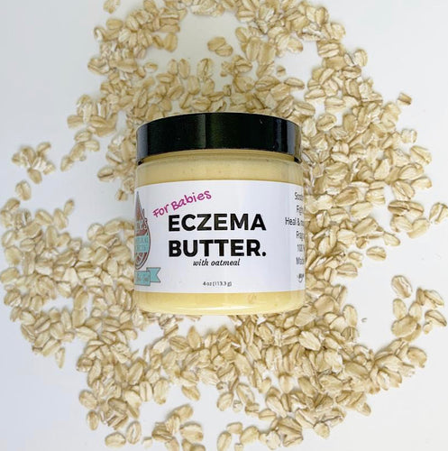 Lizzie's Eczema Butter - For Babies with Oatmeal 4 oz
