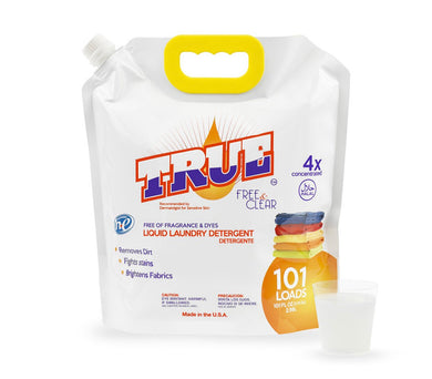 101 Loads True Free & Clear  Laundry Detergent