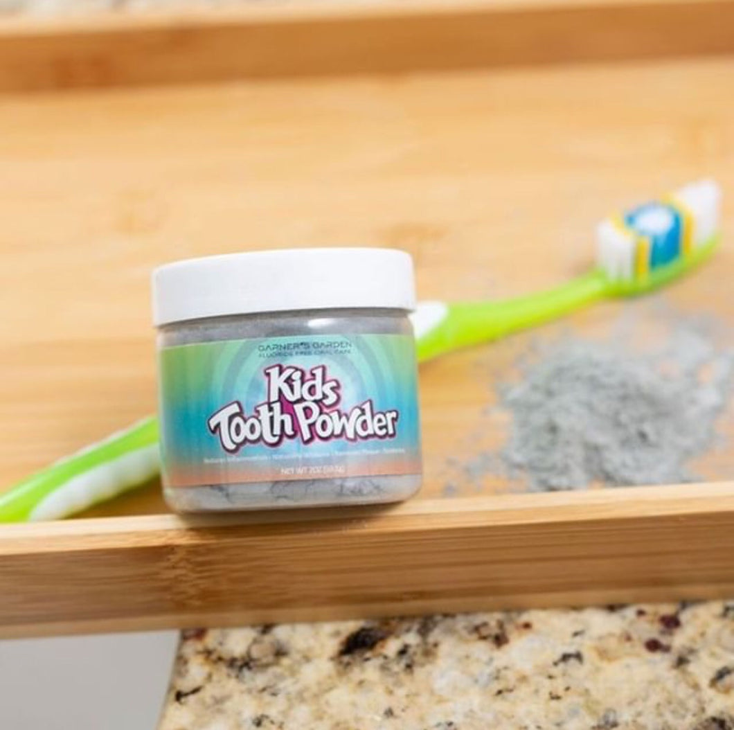 Garners Garden Kid's Tooth Powder