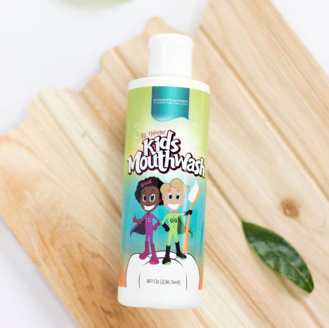 Garners Garden Kids Natural Mouthwash