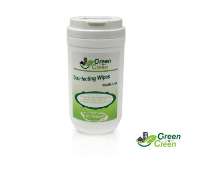 Green-N-Cleen Disinfecting Wipes - Lemon