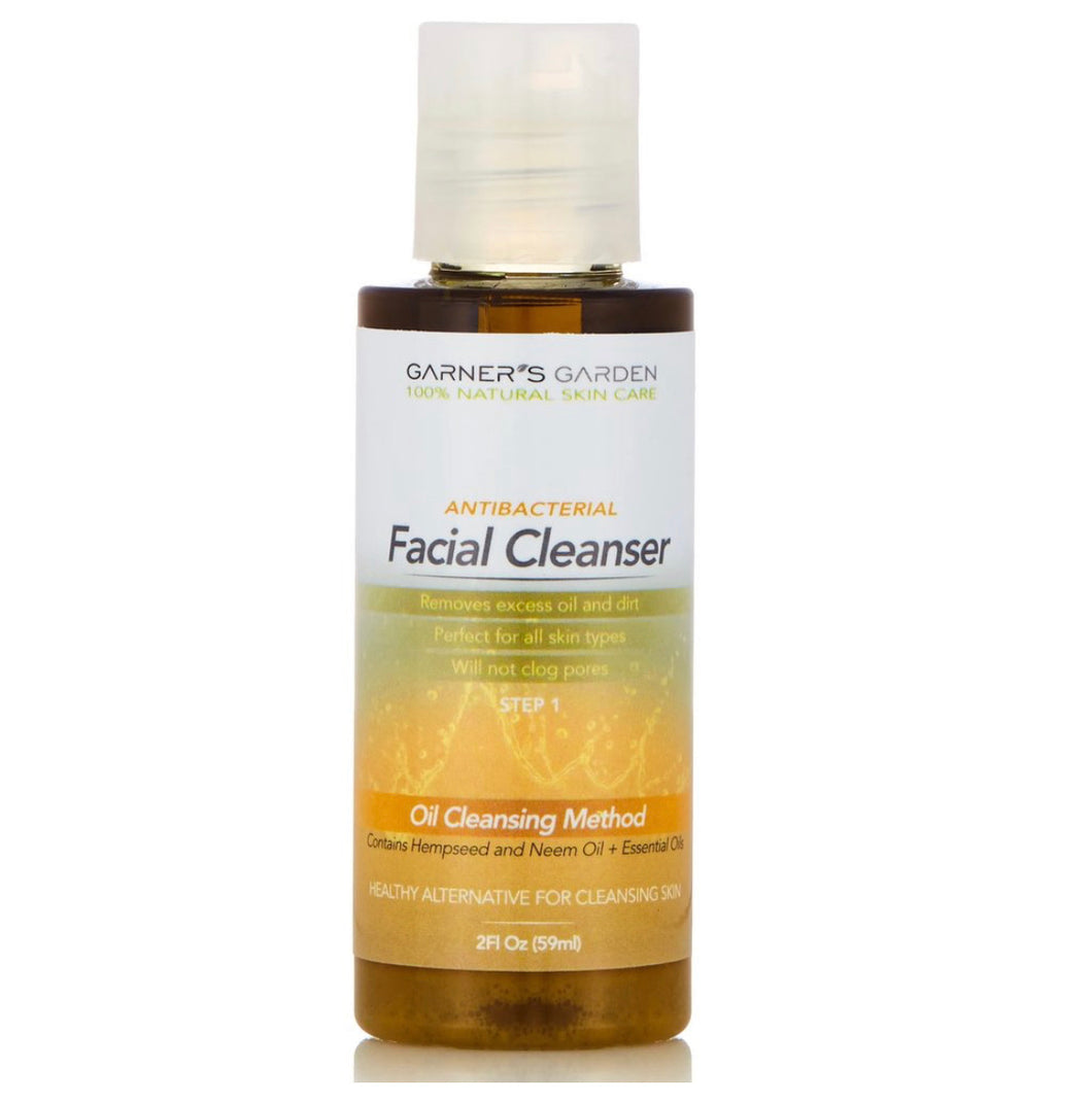 Garners Garden Antibacterial Facial Cleanser 2 oz