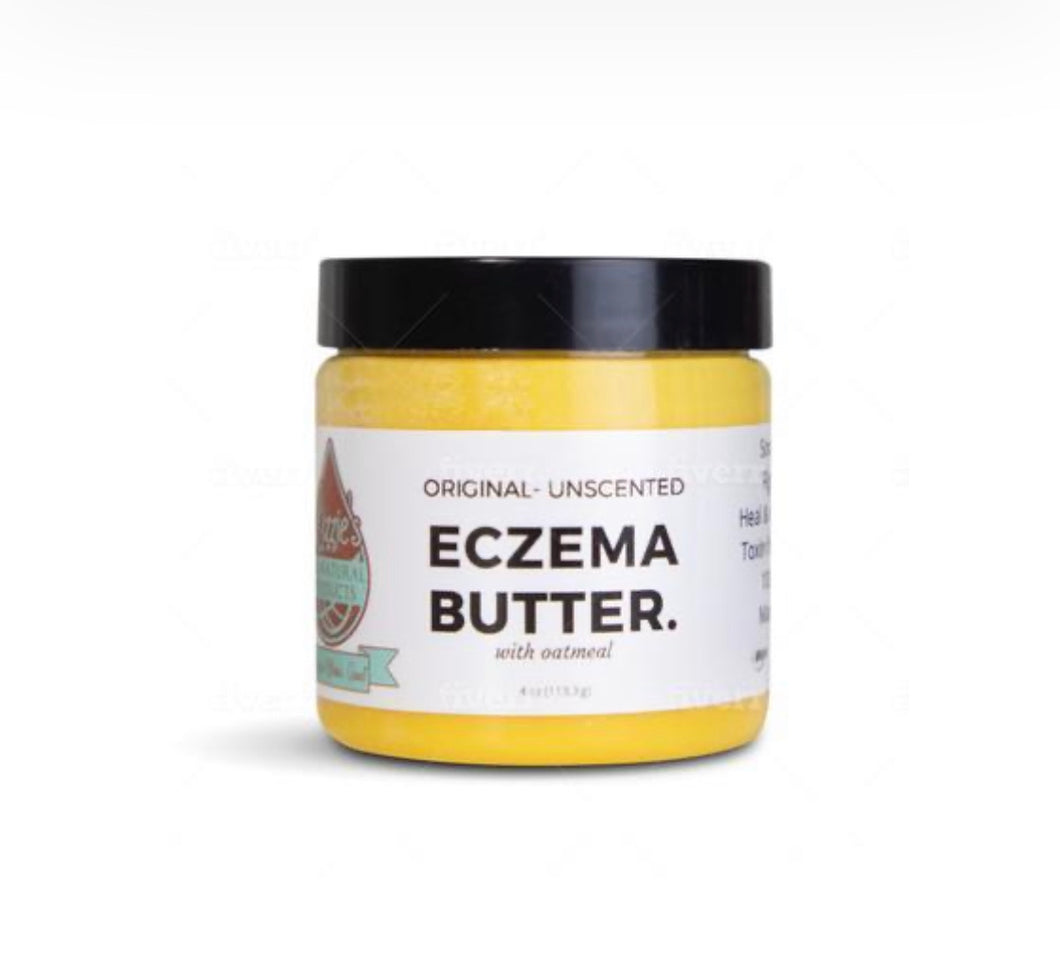 Lizzie's Eczema Butter - Original Unscented 4 oz