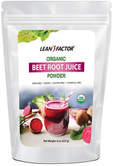Beet Root Juice Powder - Organic General Health Lean Factor 8 oz