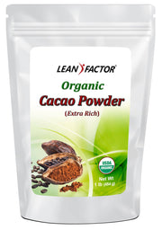 Cacao Powder - Extra Rich - Organic General Health Lean Factor 1 lb