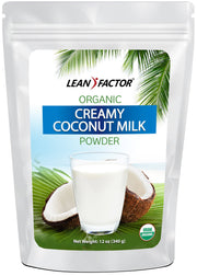 Creamy Coconut Milk Powder - Organic Weight Loss Lean Factor 12 oz