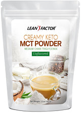Creamy Keto MCT Powder Weight Loss Lean Factor 12 oz
