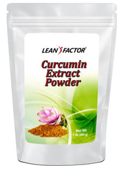 Curcumin Extract Powder General Health Lean Factor 1 lb
