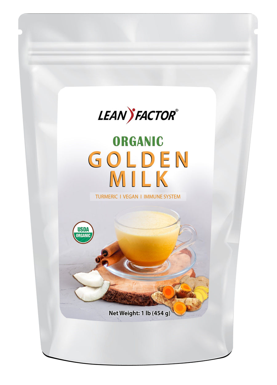 Golden Milk - Organic General Health Lean Factor 1 lb