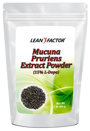 Mucuna Pruriens Extract Powder General Health Lean Factor 1 lb