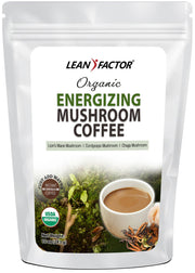 Organic Energizing Mushroom Coffee General Health Lean Factor 10 oz