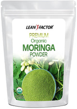Pure Premium Moringa Powder - Organic General Health Lean Factor 10 oz