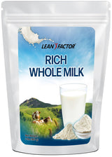 Rich Whole Milk Powder Protein Powders Lean Factor 2 lbs