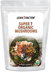 Super 7 Organic Mushrooms - Organic Men's Health Lean Factor 14 oz