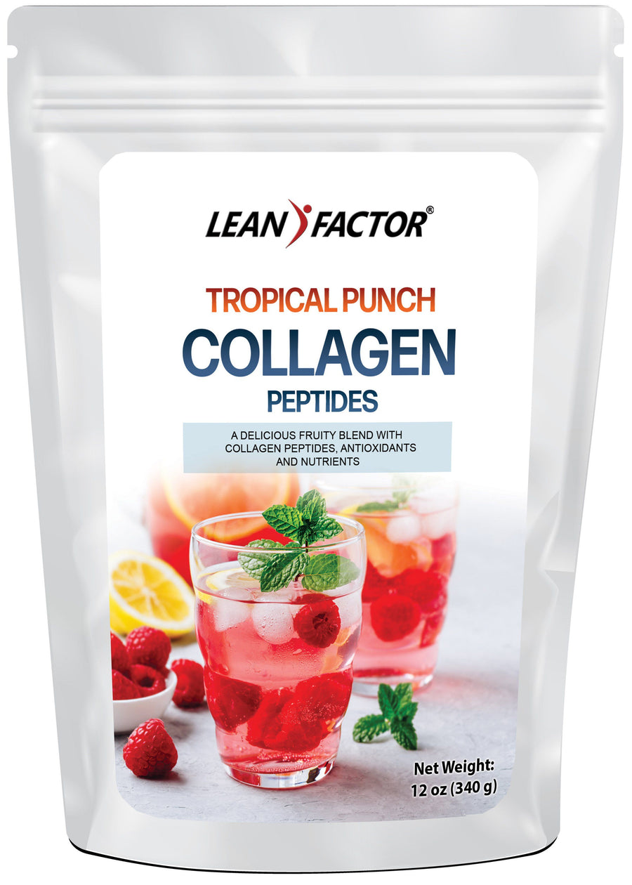 Tropical Punch Collagen Peptides Lean Factor 12 oz