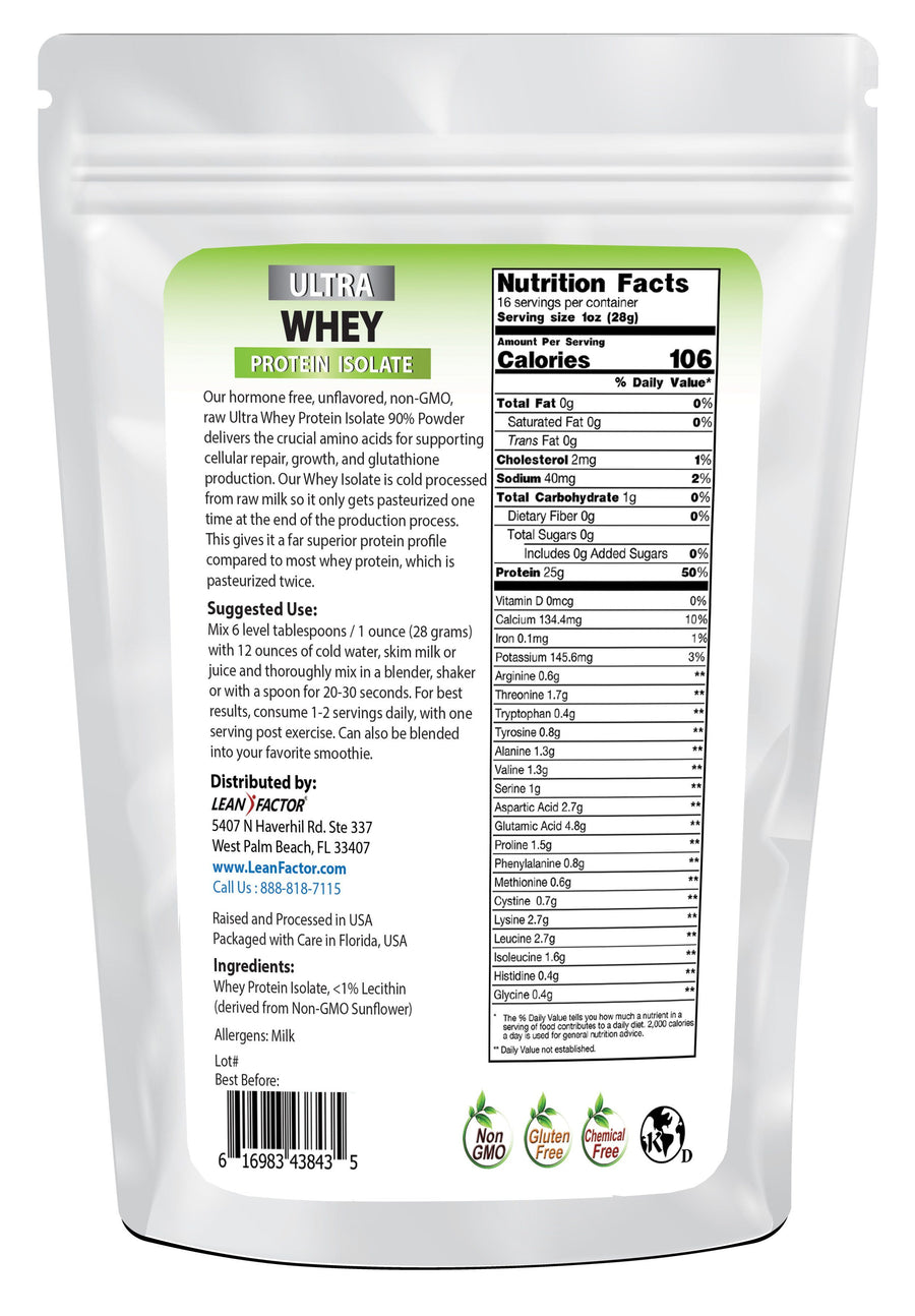 Whey Protein Isolate Protein Powders Lean Factor