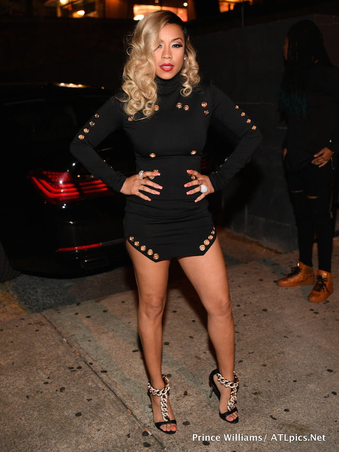 Keyshia Cole Celebrity FEMME La Jennifer Dress