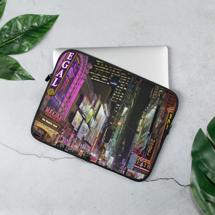 Times Square Laptop Sleeve - 15 in
