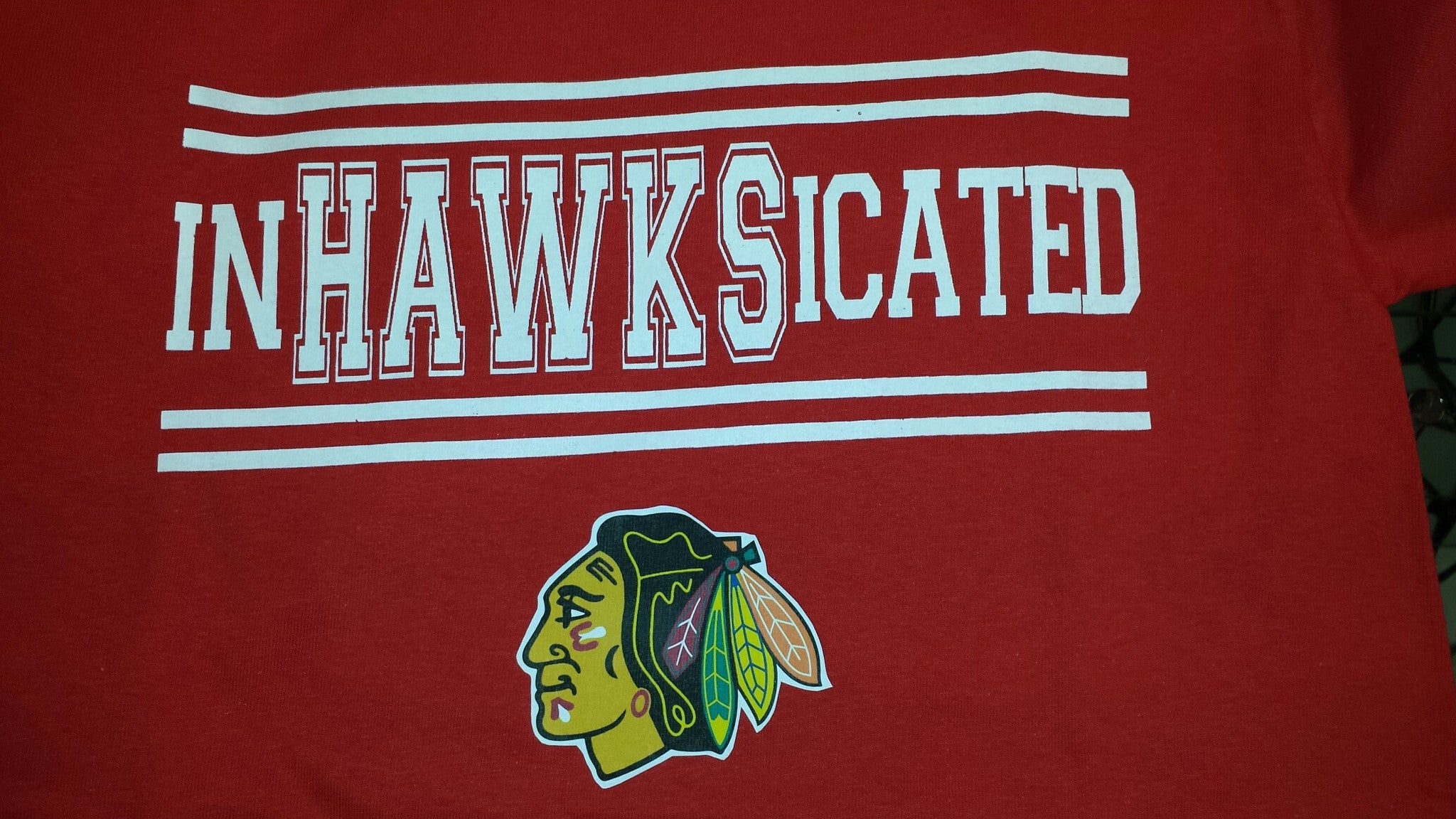 inHAWKSicated Blackhawks Chicago t-shirt Hockey