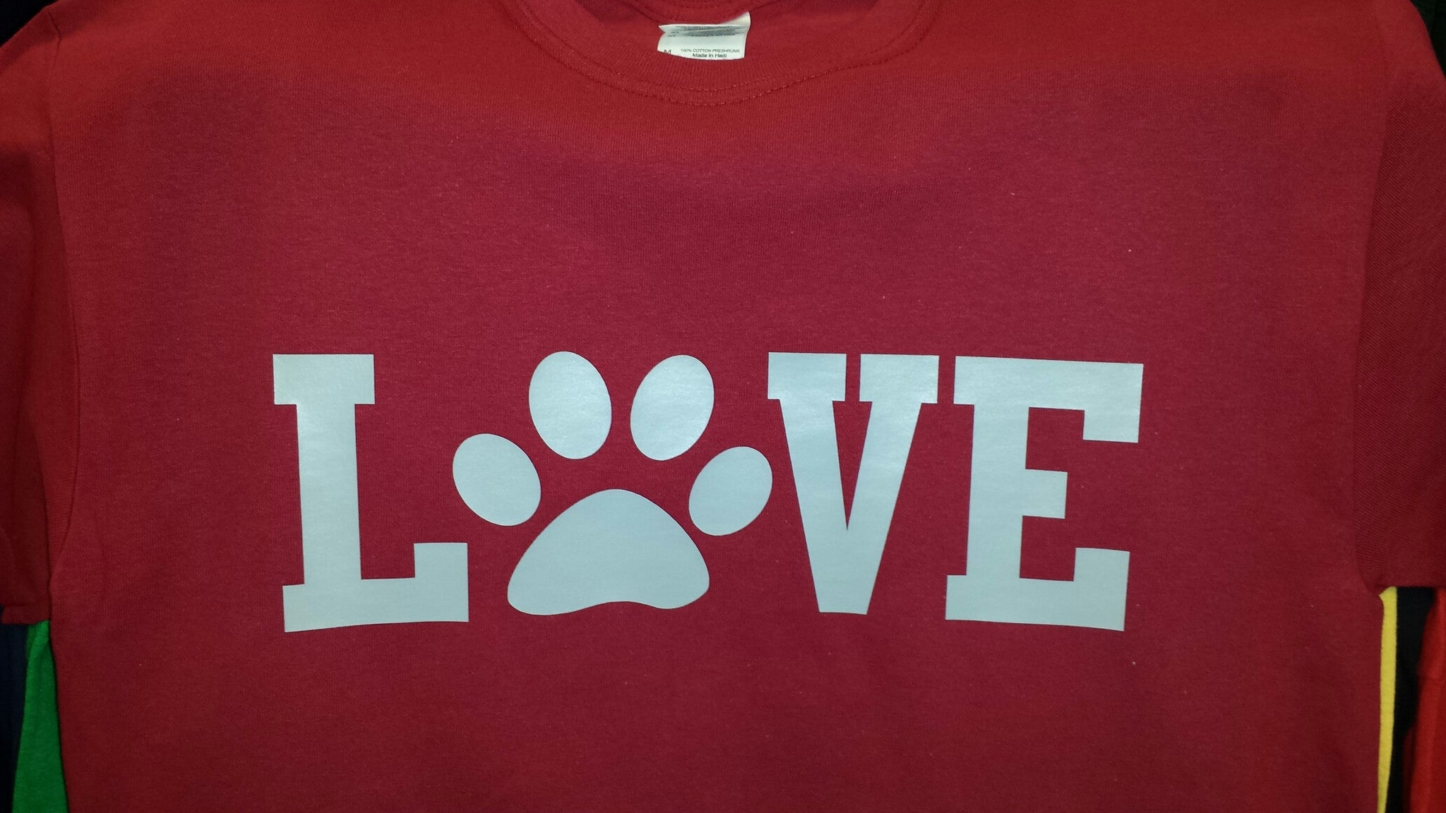 Pet Lover t-shirt Puppy love paw dog cat Best Friend love