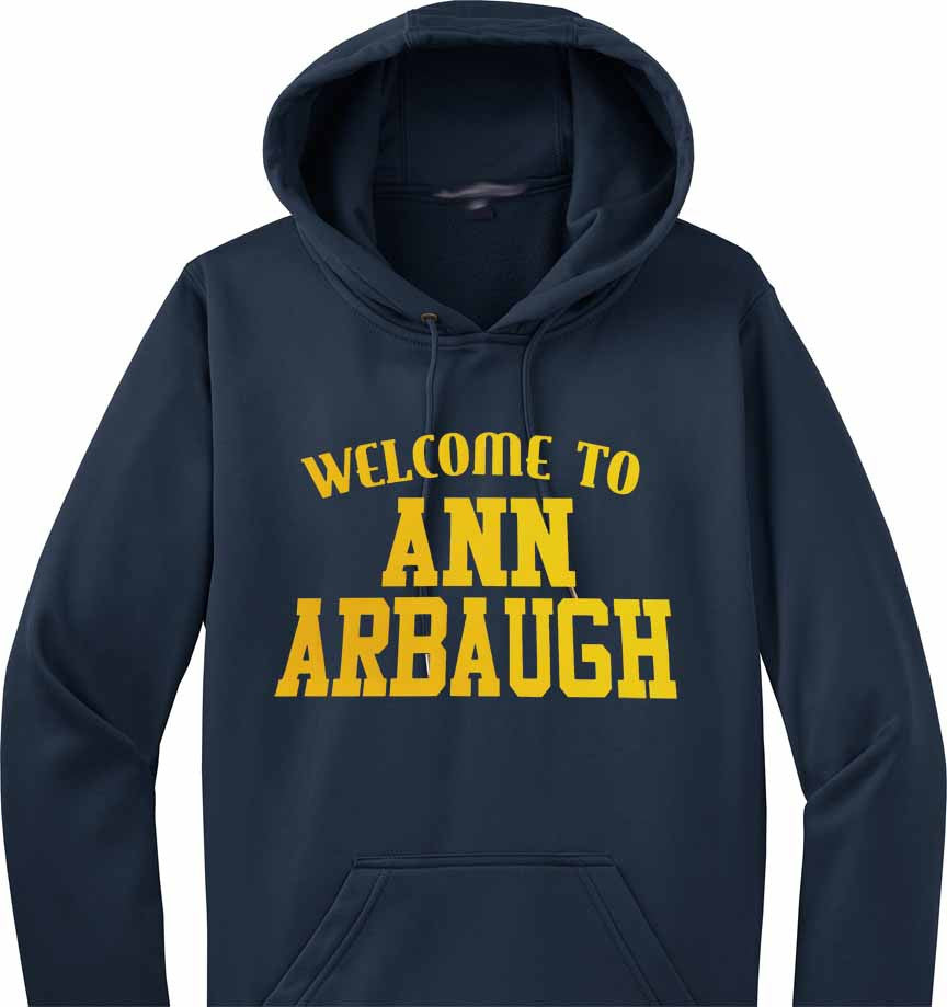 Ann Arbaugh - Harbaugh Michigan Hoodie