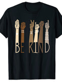 Be Kind Sign Language T-Shirts and Onesie