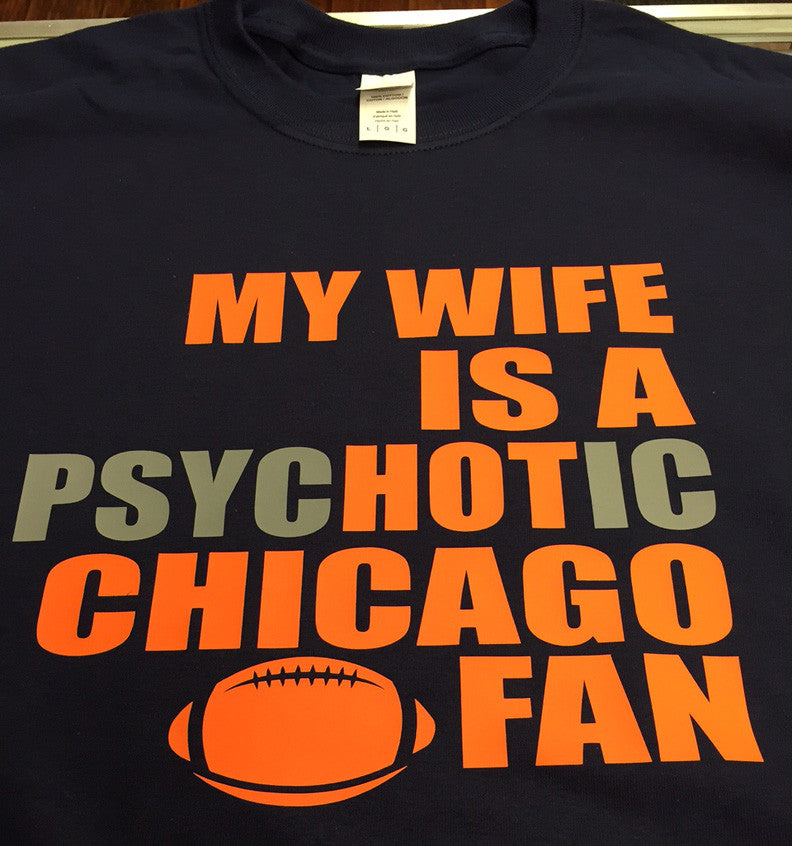 Chicago Bears Hot Wife T-Shirt