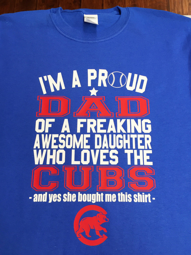 Chicago Cubs Daughter T-Shirt