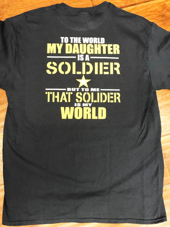 Daughter Army Soldier T-Shirt