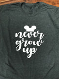 Disney Never Grow Up T-Shirt