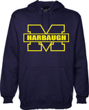 Harbaugh Michigan Hoodie