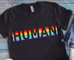 Human Pride T-Shirts 2 styles
