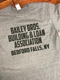 Bedford Falls Bailey Bros. Building & Loan It's A Wonderful Life T-Shirt