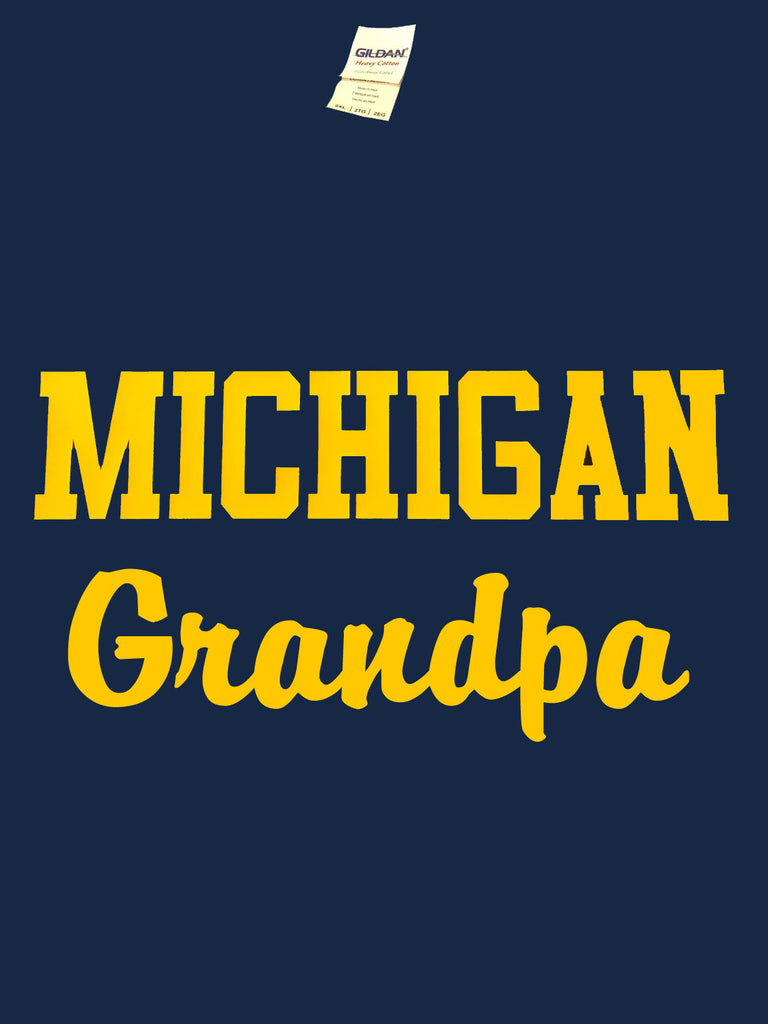 Michigan Grandpa T-Shirt