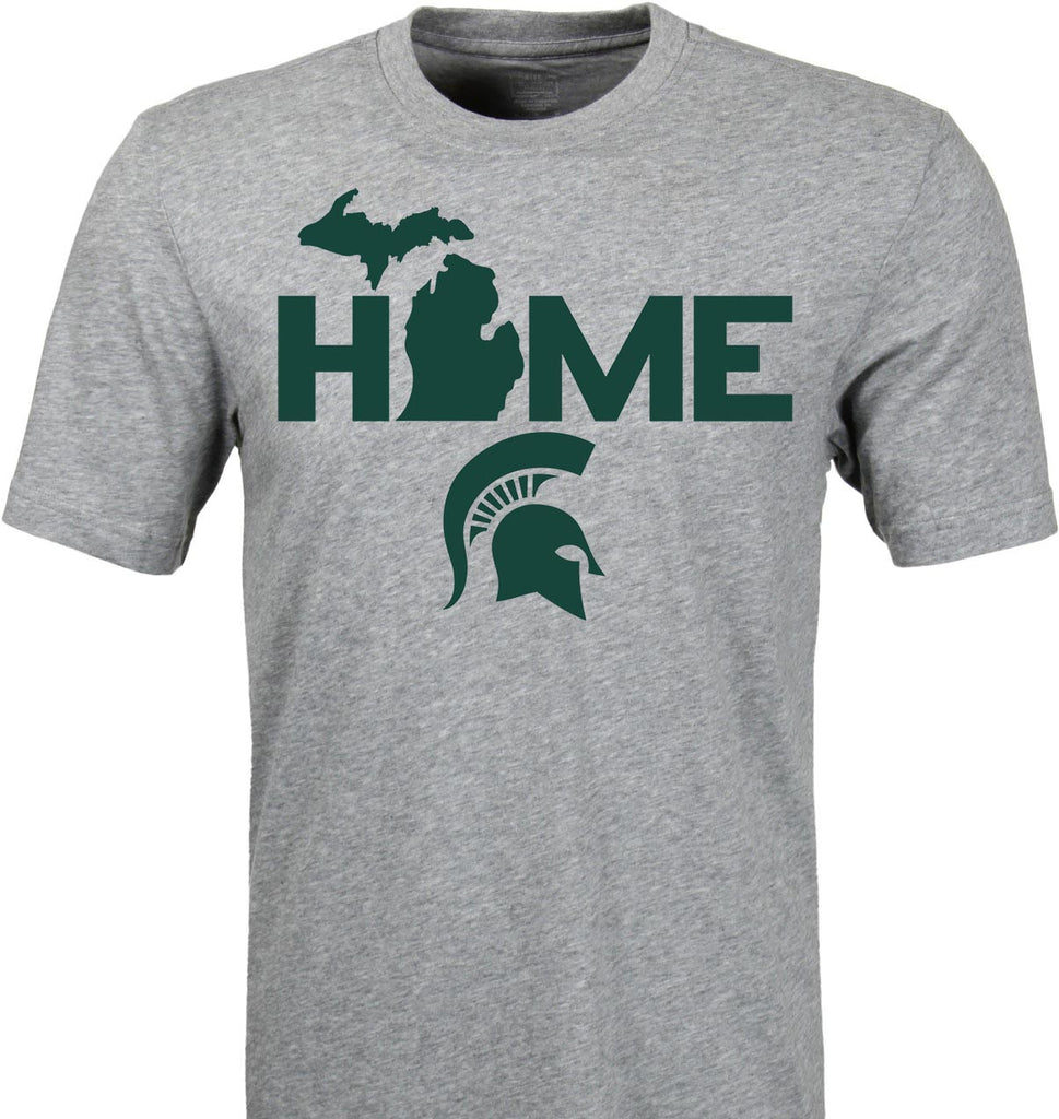 Michigan State Spartans Home T-Shirt