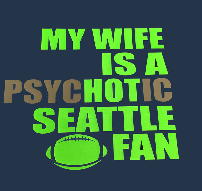 Seattle Seahawks Hot Wife T-Shirt