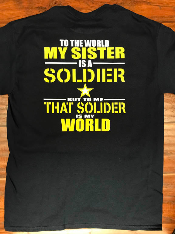 Sister Army Soldier T-Shirt