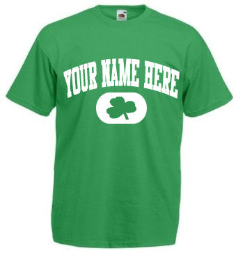 Personalized St. Pat's T-Shirt with your family name