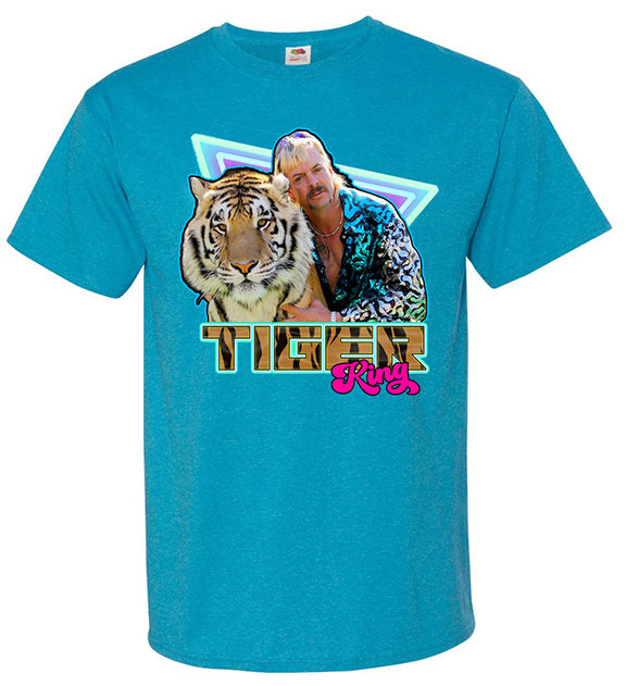 Joe Exotic Tiger King 80s-Style T-Shirt