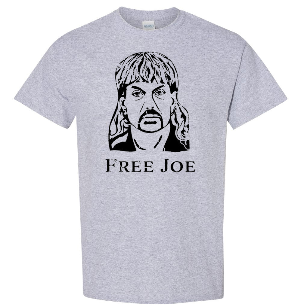 Free Joe Exotic Tiger King Image T-Shirt