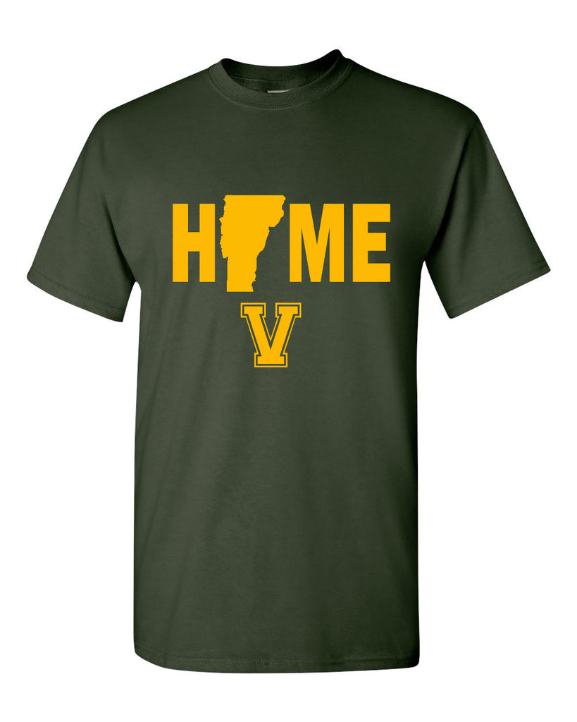 University of Vermont Catamounts Home T-Shirt