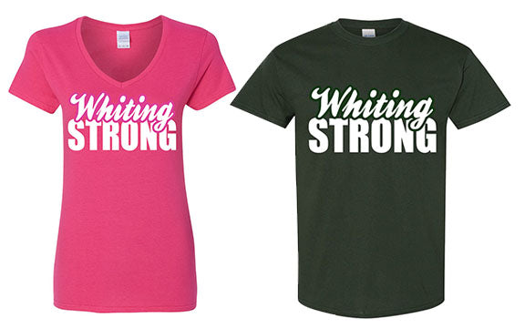 Whiting Strong T-Shirt and Vneck