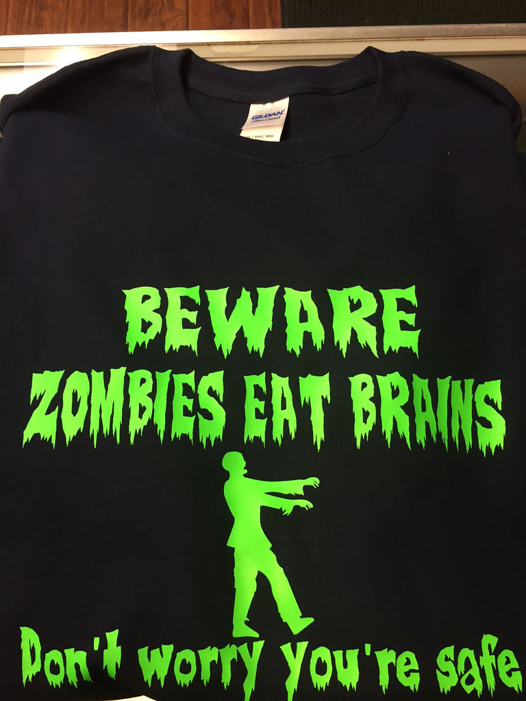 Beware of Zombies T-Shirt